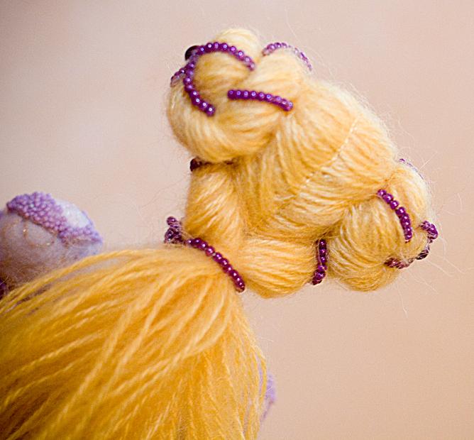 Волосы для тильды.