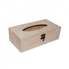 Заготовка салфетница деревянная для дкупажа